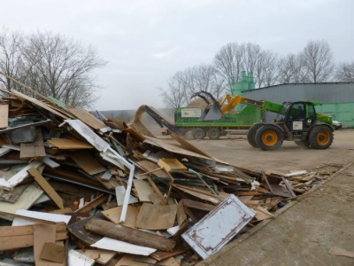 Odpadní dřevo